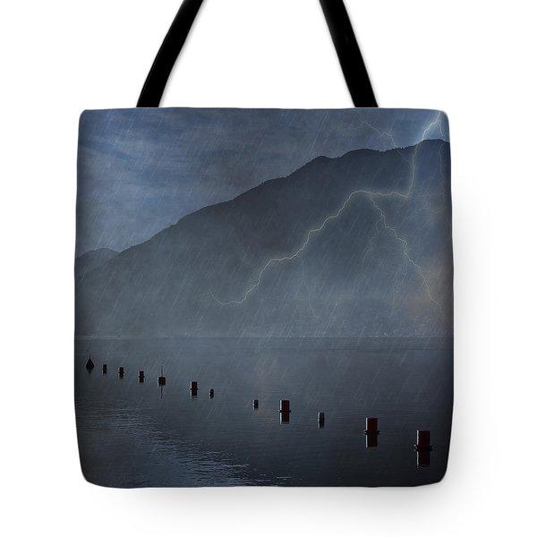 Thunderstorm Tote Bag by Joana Kruse