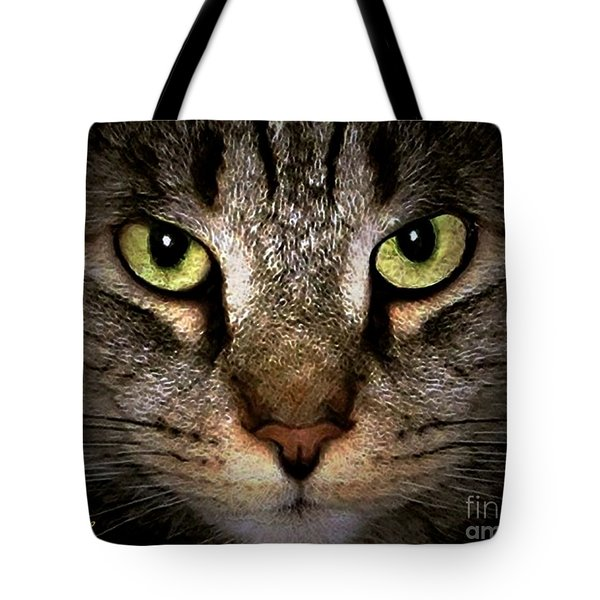 Tiger Tiger Tote Bag by Dale   Ford