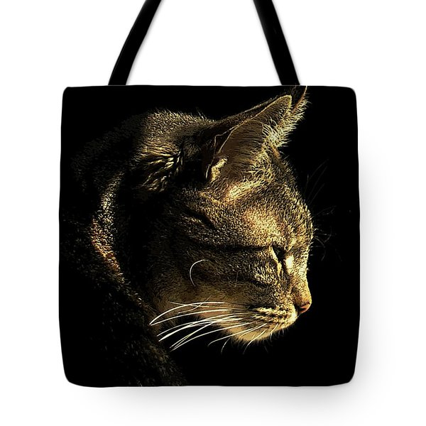 Tiger Within Tote Bag by Dale   Ford