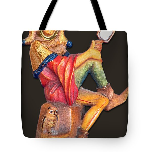 Till Eulenspiegel - The Merry Prankster Tote Bag by Christine Till