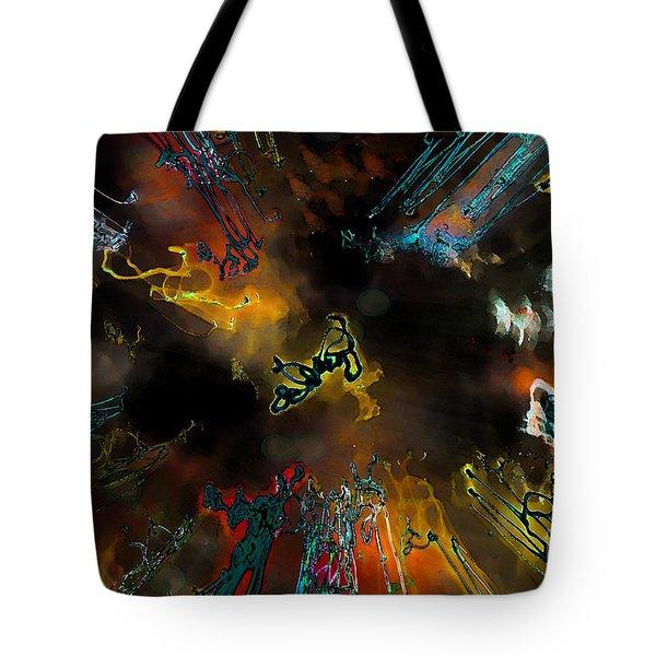 Time Flies Tote Bag by Jeff Breiman