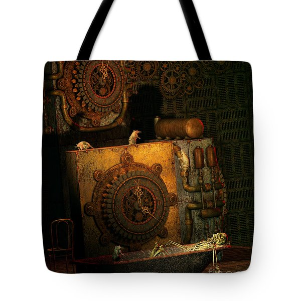 Time Passes Tote Bag by Jutta Maria Pusl