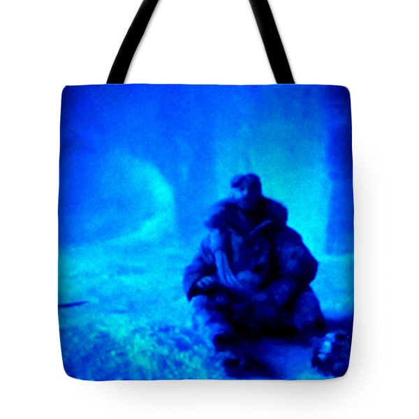 Time Stopped in a Huge Snow Ice  Grotte Tote Bag by Colette V Hera  Guggenheim