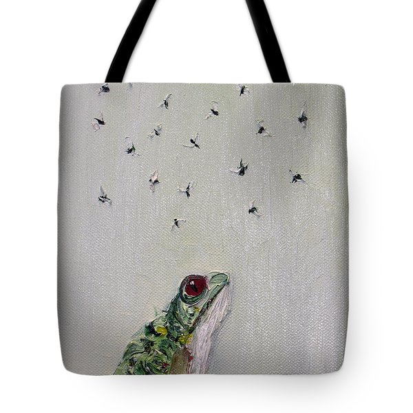 TO SAVE THEIR SMALL LIVES FROM SURROUNDING DEATH Tote Bag by Fabrizio Cassetta