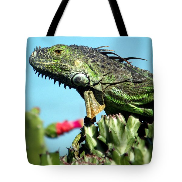 To The Point Tote Bag by Karen Wiles