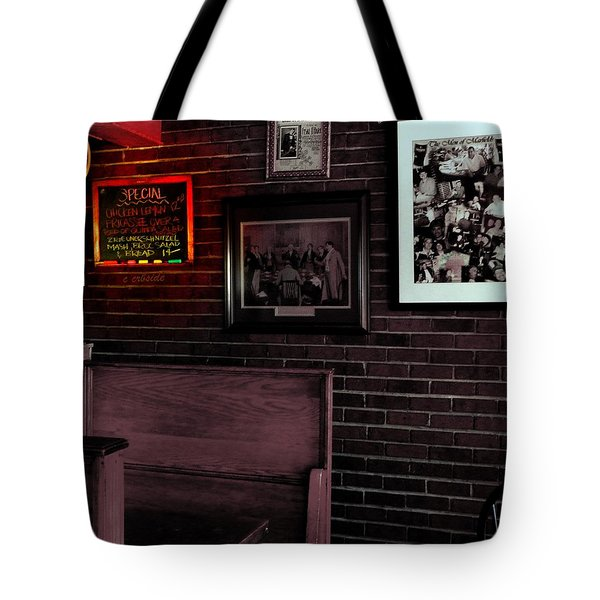 Today's Special  Tote Bag by Chris Berry
