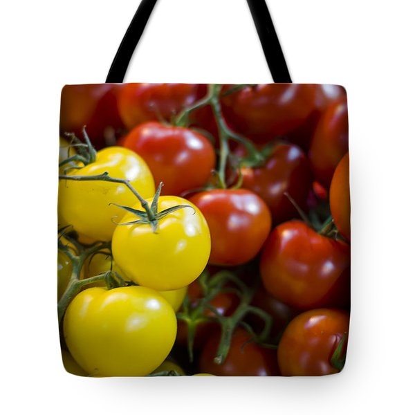 Tomatoes On The Vine Tote Bag by Heather Applegate