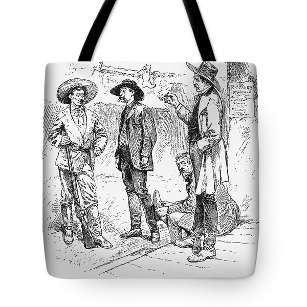 Tombstone Sheriff, 1883 Tote Bag by Granger