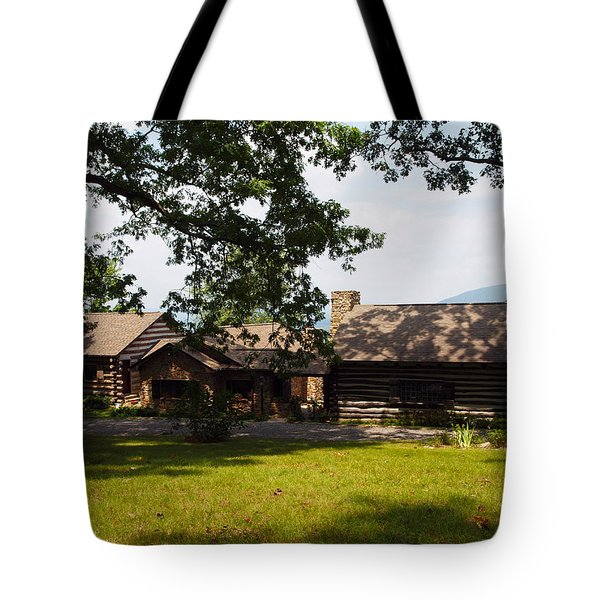 Tom's Cabin In Newport Tote Bag by Robert Margetts