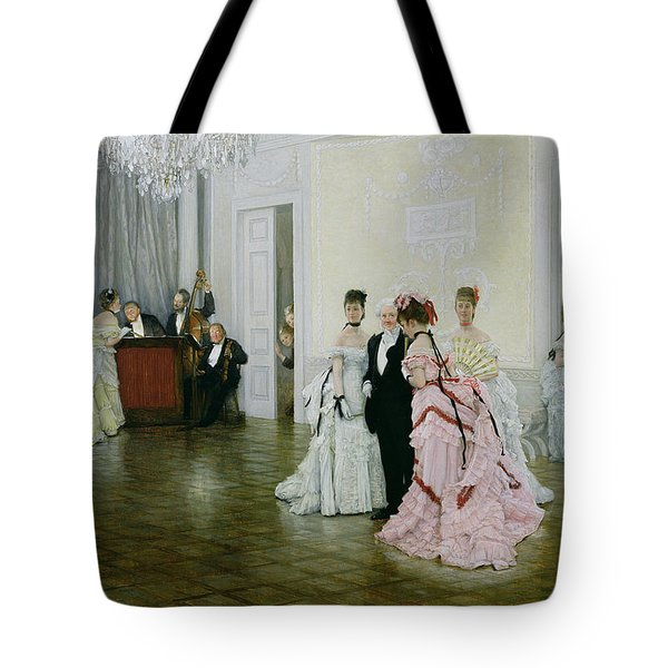 Too Early Tote Bag by James Jacques Joseph Tissot