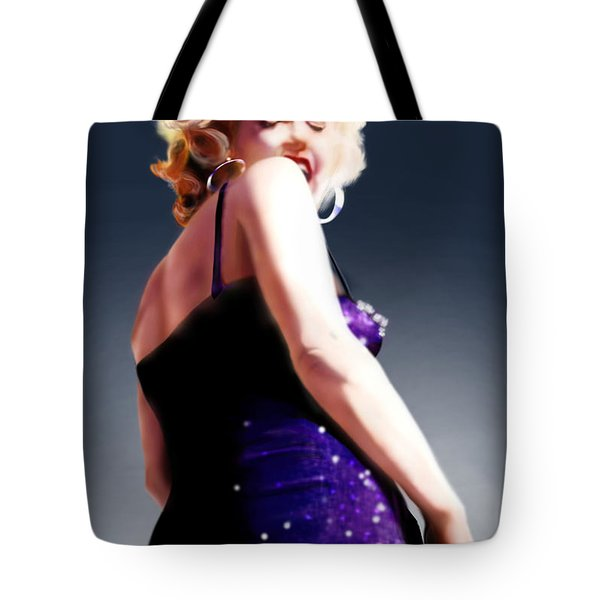 Too High to Climb - Monroe Tote Bag by Reggie Duffie