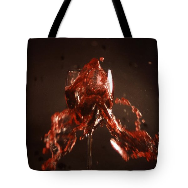 Too Much Wine Tote Bag by Skip Willits