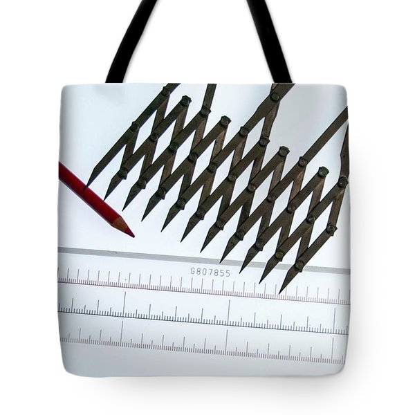 Tools Of The Trade Tote Bag by Guy Whiteley