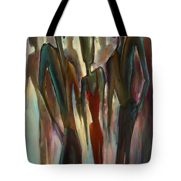'touch Of Red' Tote Bag by Michael Lang