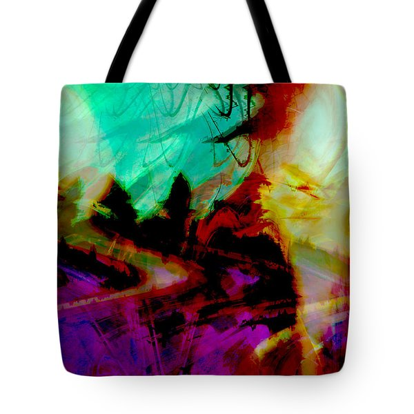 Touch of the Sun Tote Bag by Linda Sannuti