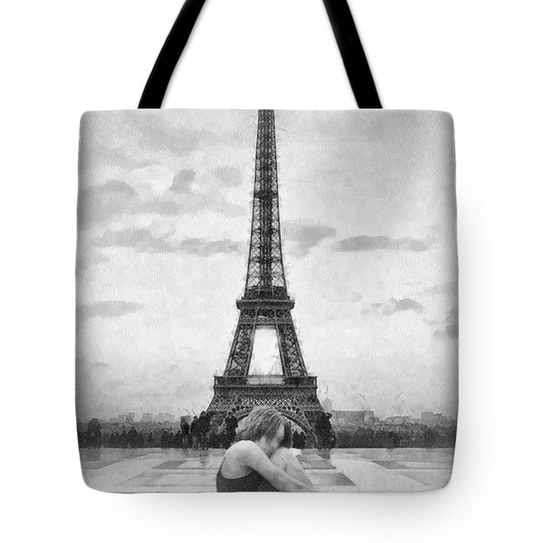 Tourterelle Tote Bag by Mo T