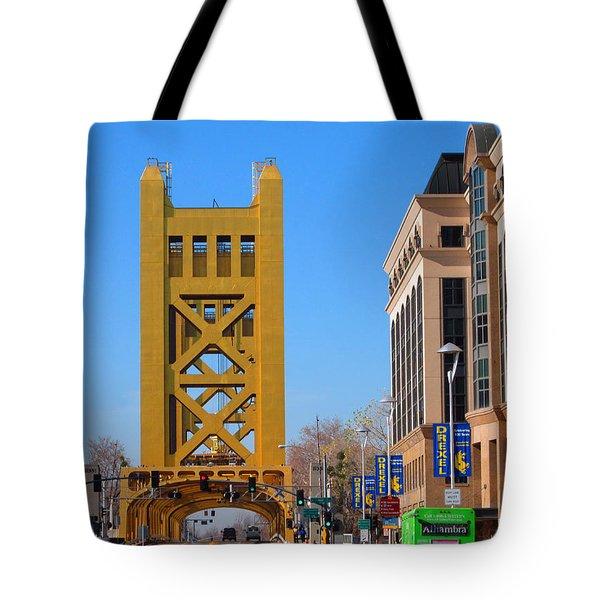 Tower Bridge 4 Tote Bag by Barry Jones