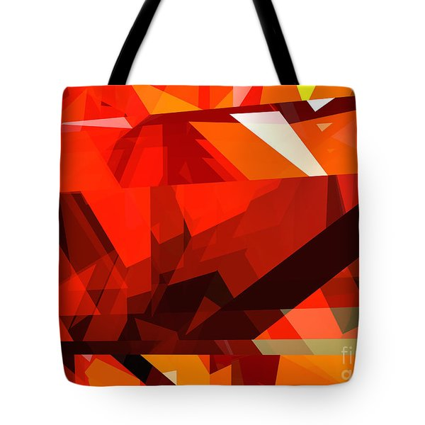 Tower Series 14l Tote Bag by Russell Kightley