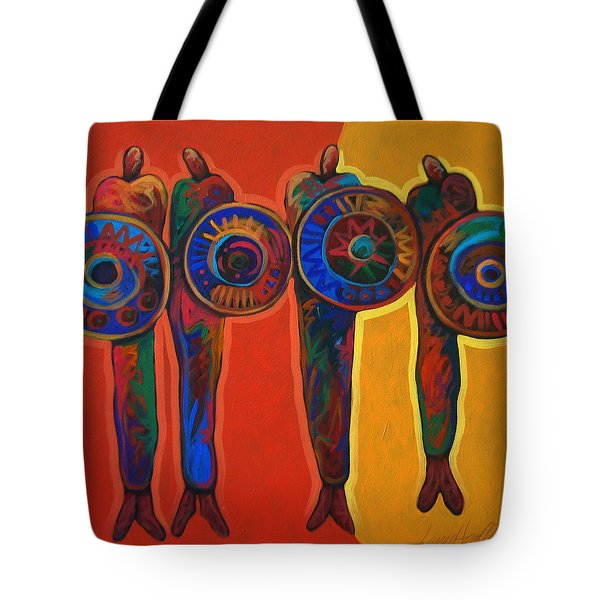 Trading Places Tote Bag by Lance Headlee