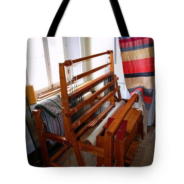 Traditional Weavers Loom Tote Bag by LeeAnn McLaneGoetz McLaneGoetzStudioLLCcom