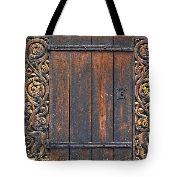 Traditional Wood Carvings Tote Bag by Heiko Koehrer-Wagner