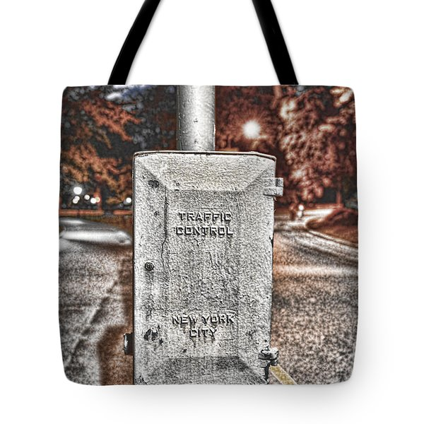 Traffic Control Box Tote Bag by Paul Ward