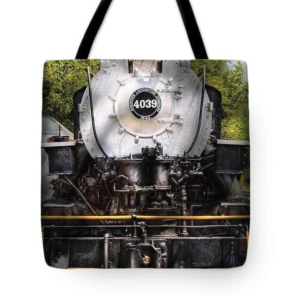 Train - Engine - 4039 American Locomotive Company  Tote Bag by Mike Savad