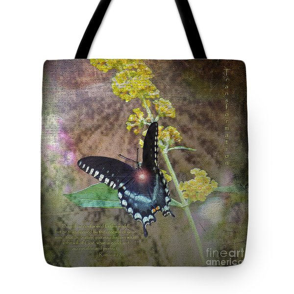 Transformation Tote Bag by Patricia Griffin Brett
