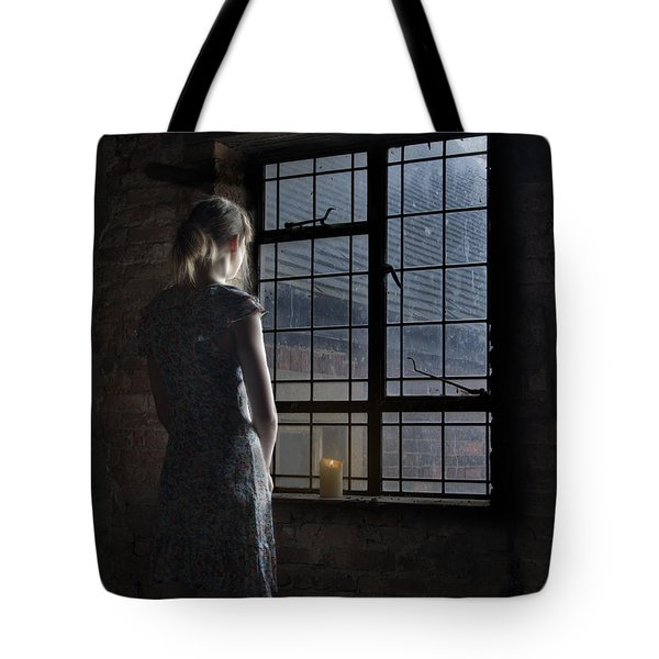 Trapped - Colour Tote Bag by Steev Stamford