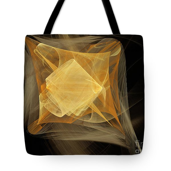 Travel In Time To 1969 Encased In Space Tote Bag by Andee Design