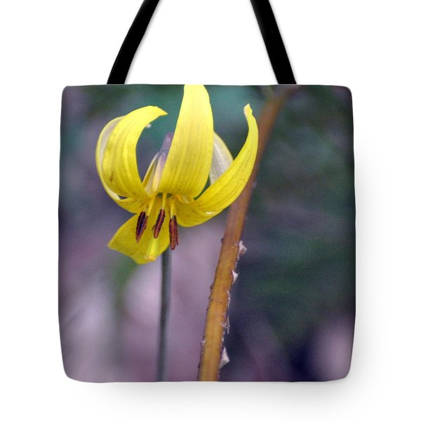 Trillium Tote Bag by Marty Koch