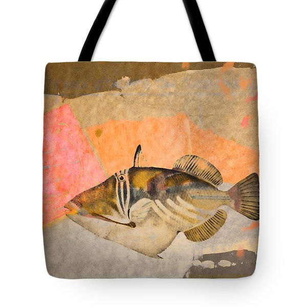 Tropical Dream Number 2 Square Format Tote Bag by Carol Leigh