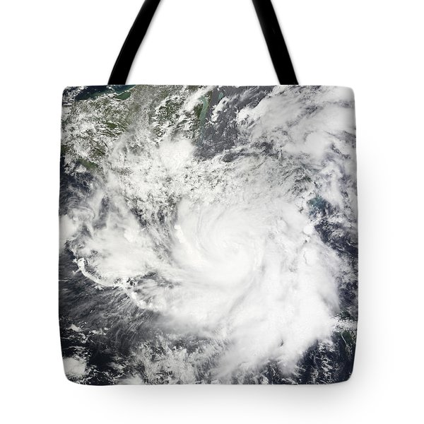 Tropical Storm Alma Tote Bag by Stocktrek Images