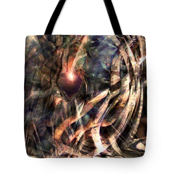 True Love Tote Bag by Linda Sannuti