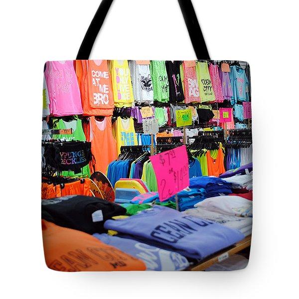 T's  Tote Bag by Skip Willits