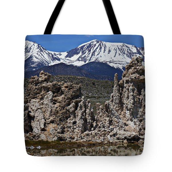 Tufa At Mono Lake California Tote Bag by Garry Gay