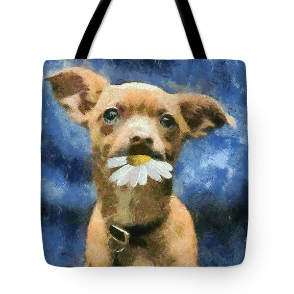 Tuffy Tote Bag by Aimelle