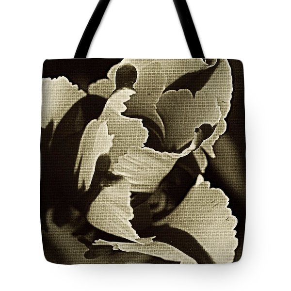 Tulip Whirled Tote Bag by Chris Berry