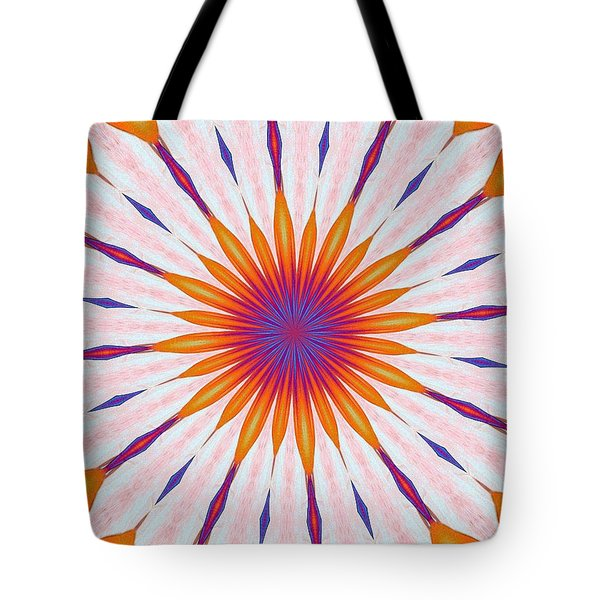 Tulips In The Sun Tote Bag by Alec Drake