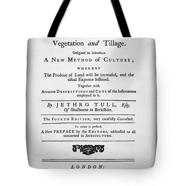 Tull: Title Page, 1762 Tote Bag by Granger