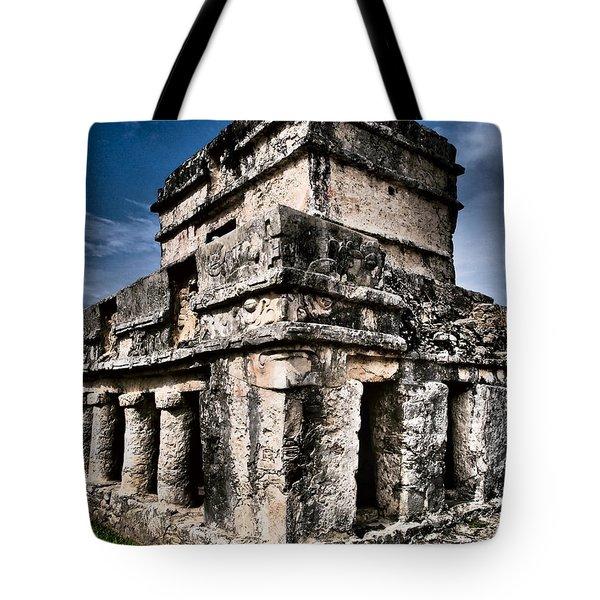 Tulum Ruinas 1 Tote Bag by Skip Hunt