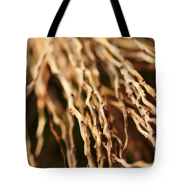 Twigs Tote Bag by Cheryl Young