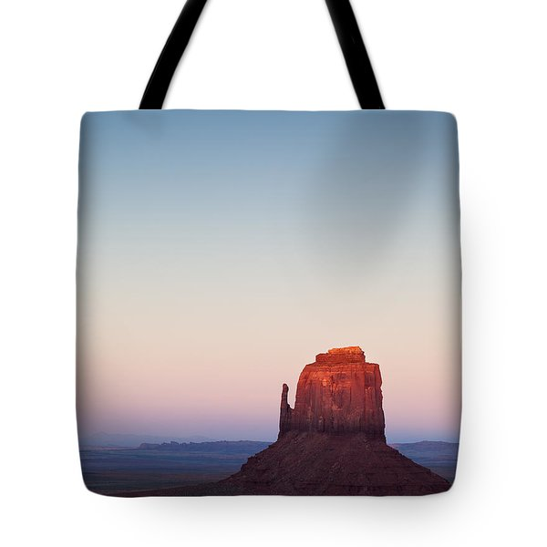 Twilight In The Valley Tote Bag by Dave Bowman