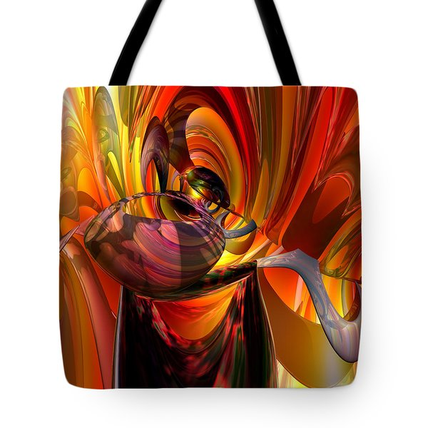 Twisted Jester Fx  Tote Bag by G Adam Orosco