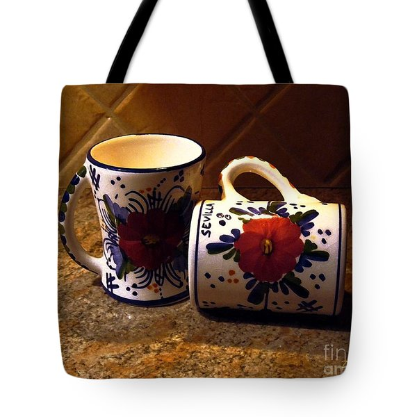 Two Cups Tote Bag by Dale   Ford