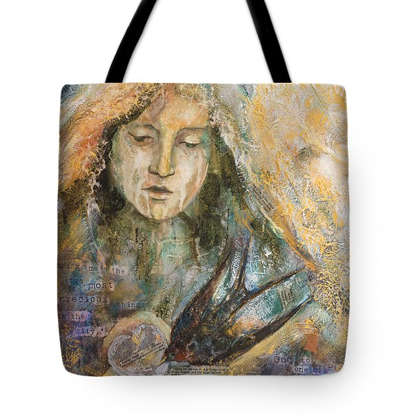 Two Most Precious Things Tote Bag by Kate Bedell