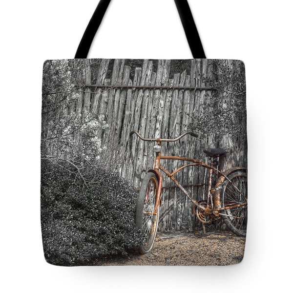 Two Wheels Tote Bag by Scott Norris