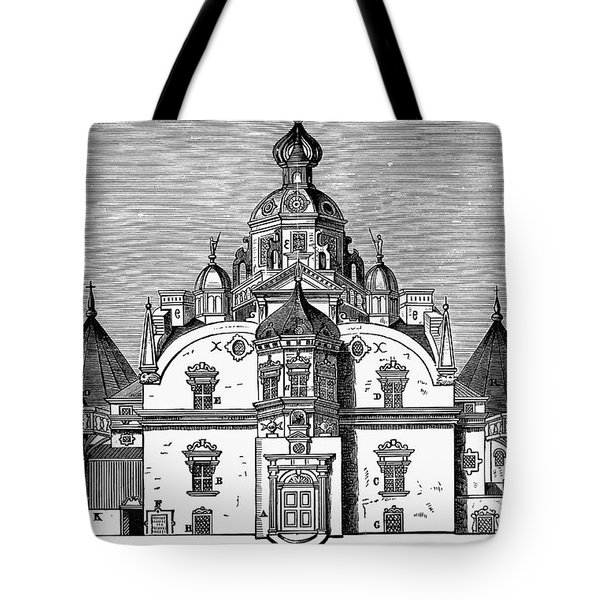 Tycho Brahes Observatory Tote Bag by Granger