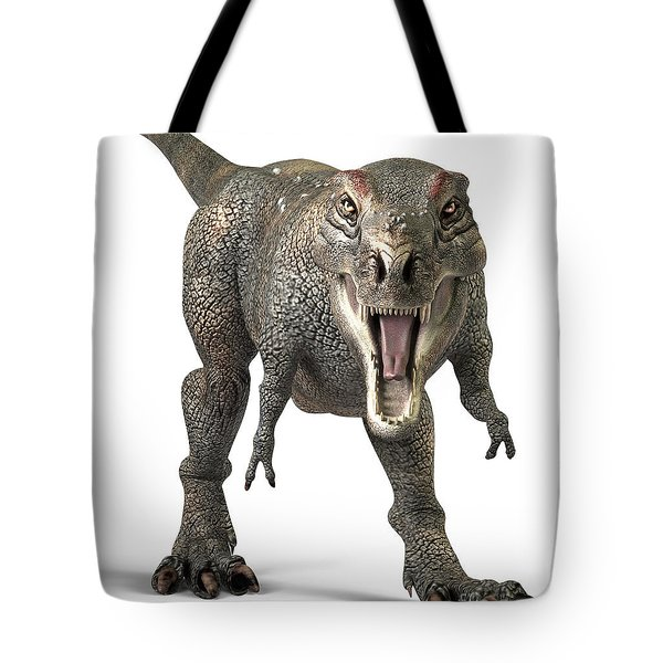 Tyrannosaurus Rex  Tote Bag by Roger Hall and Photo Researchers