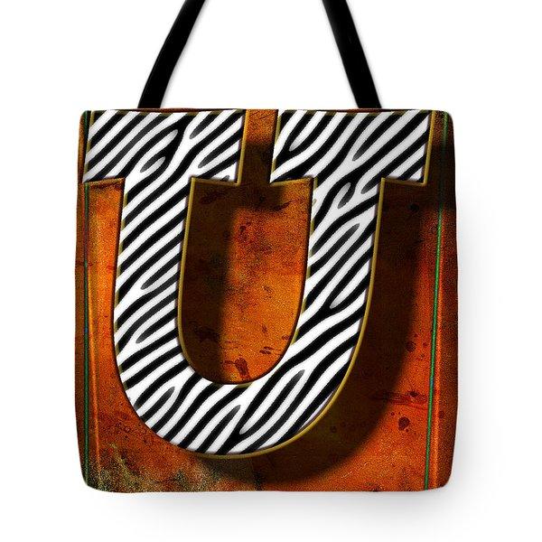 U Tote Bag by Mauro Celotti
